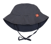 Sun Protection  polka dots navy